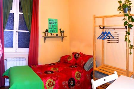 ROOM & BIKE, private bathroom - Gijón - Bed & Breakfast
