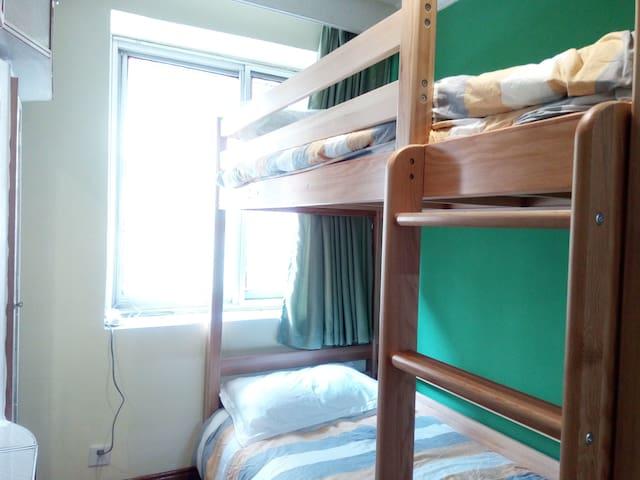 云南师范大学雷朵拉家的蓝色书屋——青岚(上下床房) - Kunming - Apartment