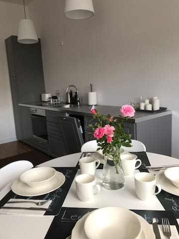 Apartment in City Center with free parking place