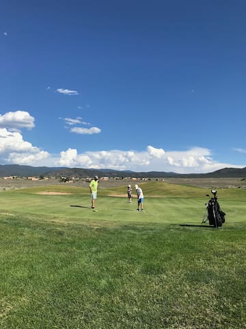 Golf with a view at Taos Country Club