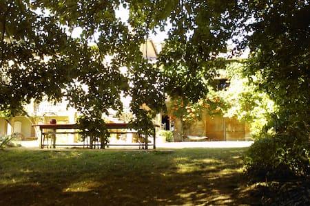 Chambre bleue à Mareillagues - Gibel