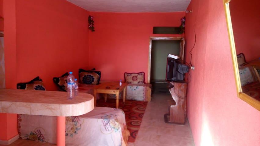 Village Tafdna : Dar mhend lhaj - Centre Commune Tafedna - Leilighet