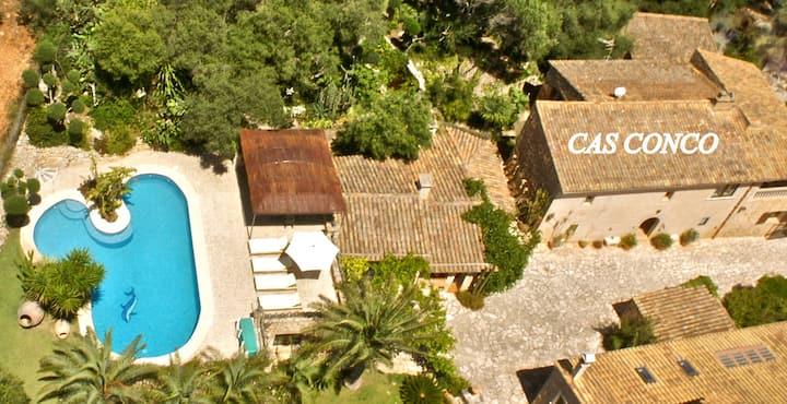 Casa rural mallorquina con piscina y jacuzzi