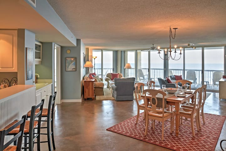 The tastefully-appointed, 4th-floor unit offers 2,100 square feet of comfortable living space.