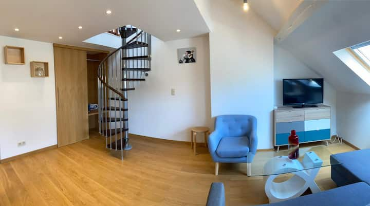 Duplex in Uccle with Terrace