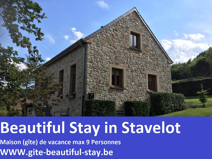 Maison de vacances Beautiful Stay in Stavelot