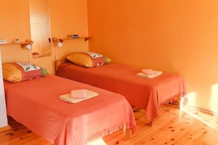 Sunny room in countryside house - Kolka