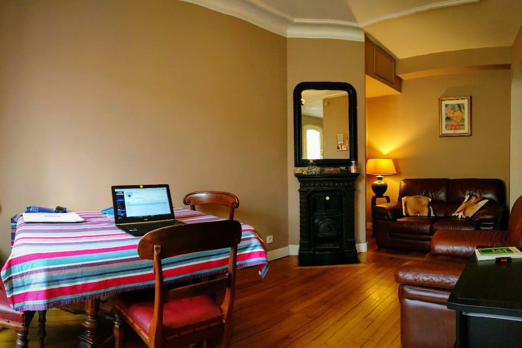 Appartement spacieux et lumineux..