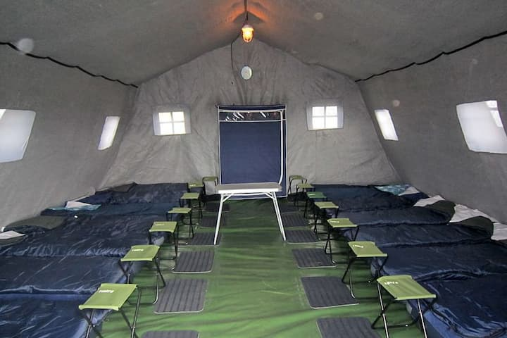 Палатка на 10 мест