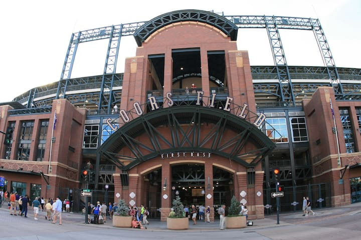 Amazing location! across Avanti, walk Coors Field