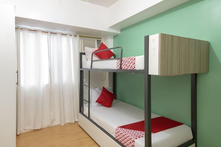 Standard Bunk 2 Bed @ Amaia Skies Avenida