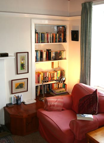 Reading Nook in the Sitting Room -best seat in the house!