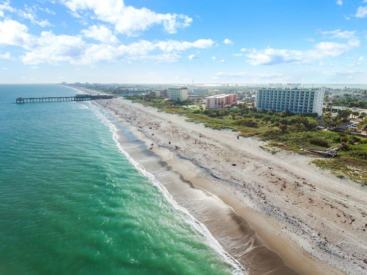Professionally Cleaned! 2BR Ocean Front - Next To Pier