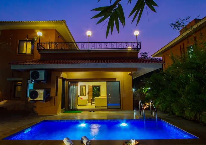 B- 24 Spring, 3BHK Pool Villa amidst Nature