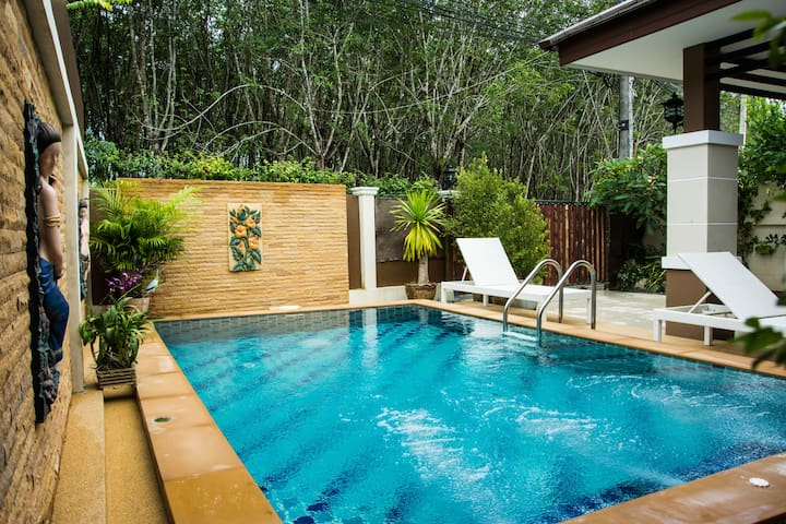 Ao Nang Krabi private pool villa Pattama
