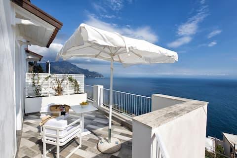 Habitación estándar con balcón con vistas al mar