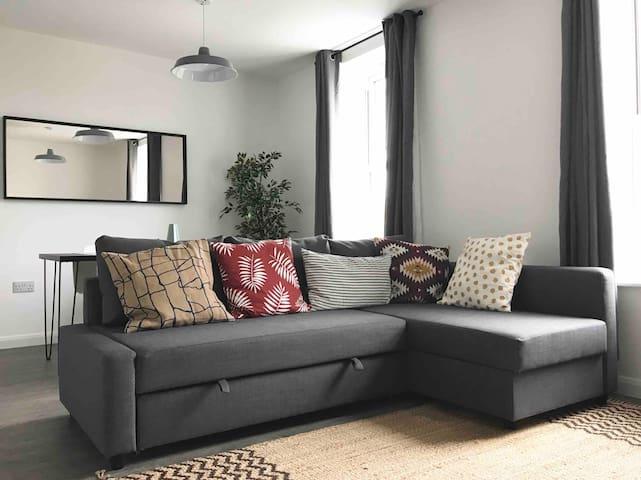 Cool newly renovated flat near Bristol City Centre