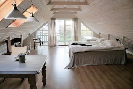 Peaceful retreat in the swedish countryside.