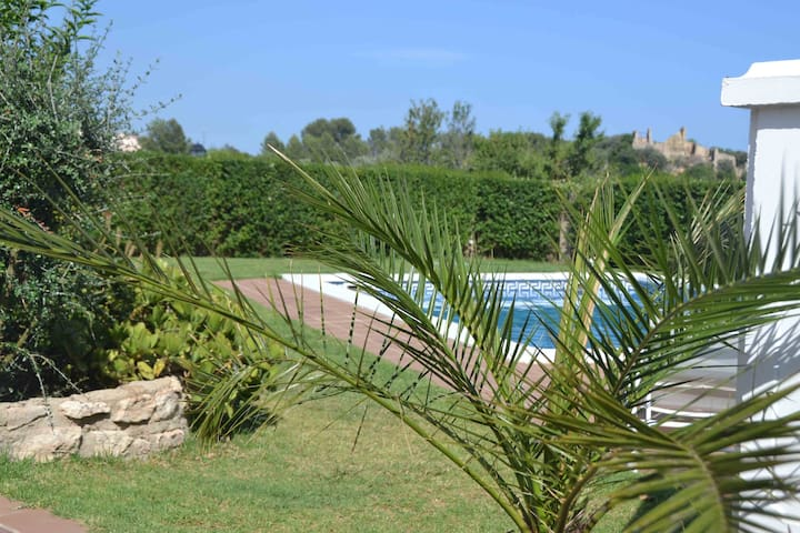 two nice flats with pool, bbq, 6 km to the beach - El Catllar - Daire