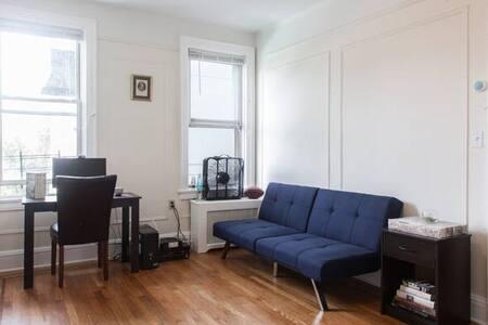 Elegant Pre-War Comfortable Futon in Shared Space - Appartamento