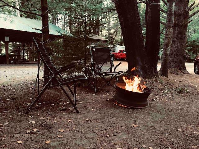 Adirondack camping retreat