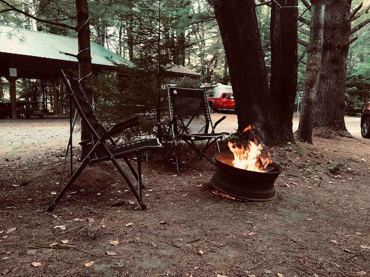 Adirondack camping retreat