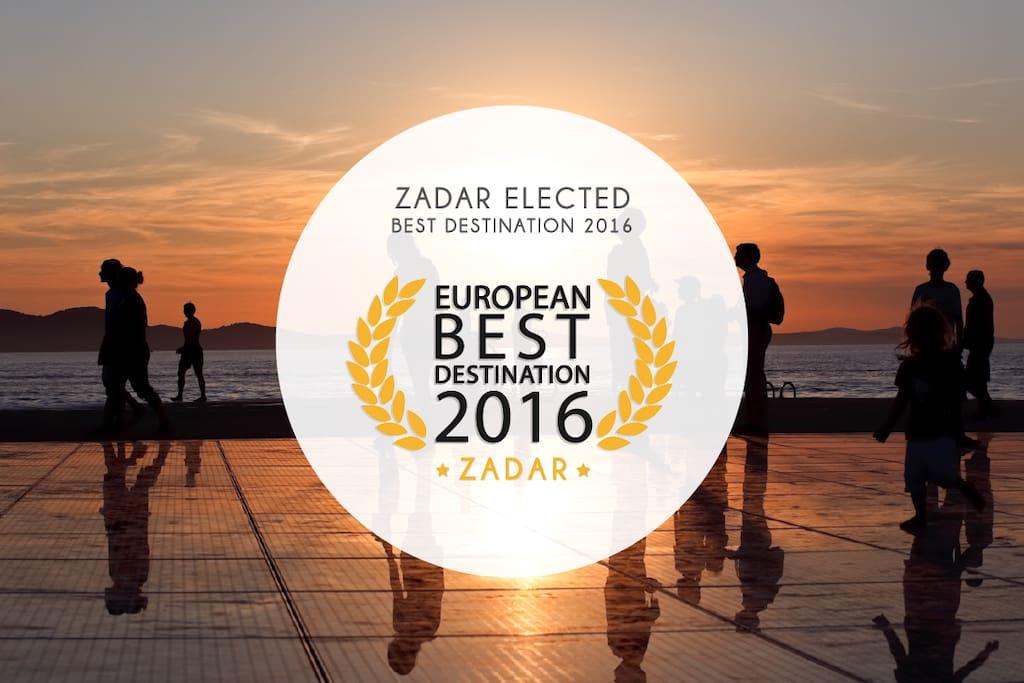 Zadar elected best destination in Europe 2016