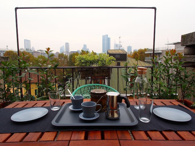 Romantic Panoramic Penthouse - Milan