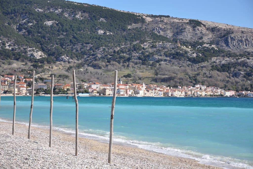Baska beach