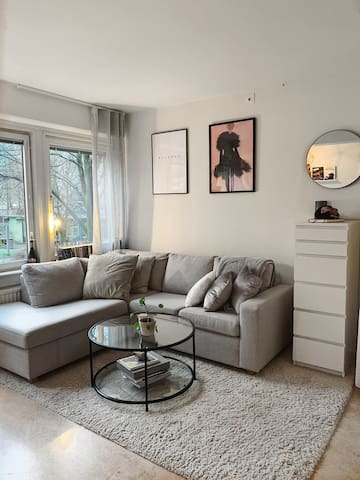 One room apartment in the heart of Gothenburg