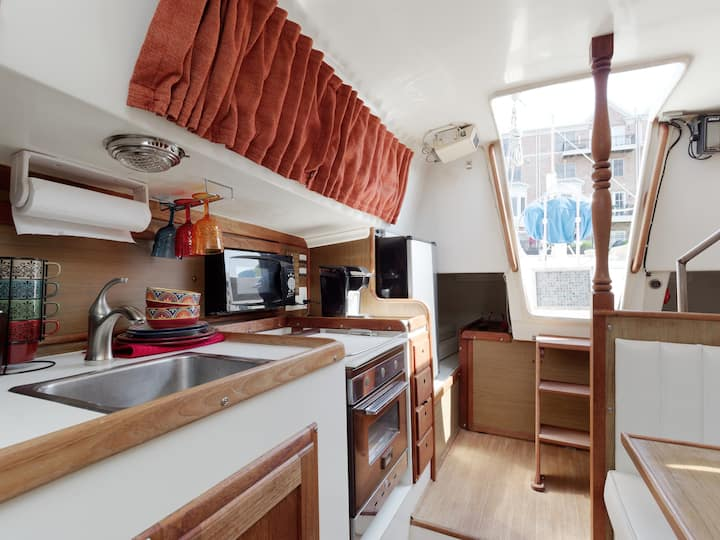 Canton/ Fells Point Sail Boat