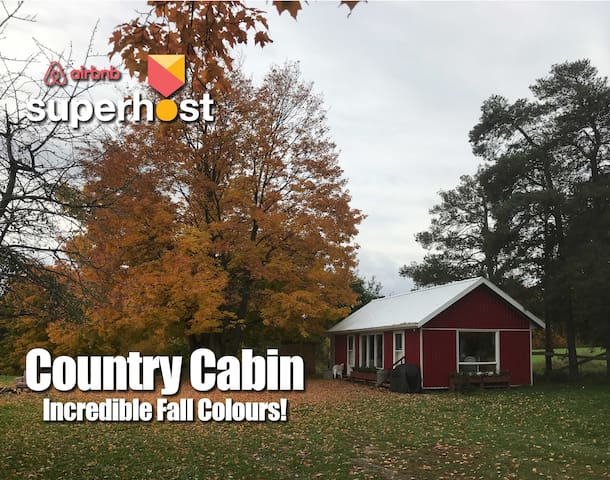 Country Cabin for Long / Short Stays