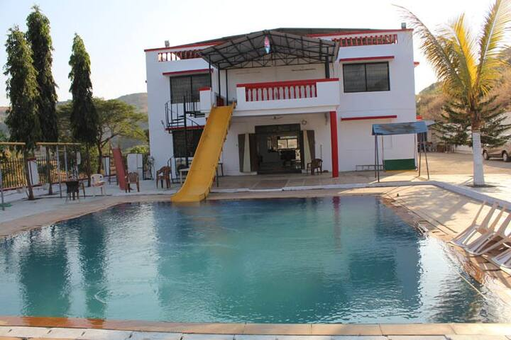 SKS Farmhouse in Karjat near Mumbai, Pune, Thane