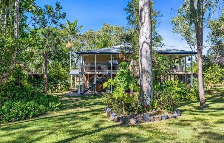 Secluded retreat on the Fitzroy river.