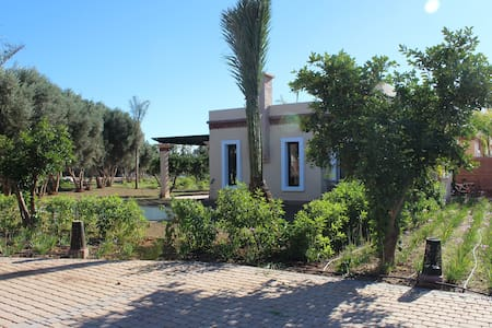 Villa Louisa, l'orangeraie avec piscine privative - Sidi Moussa Lhamri