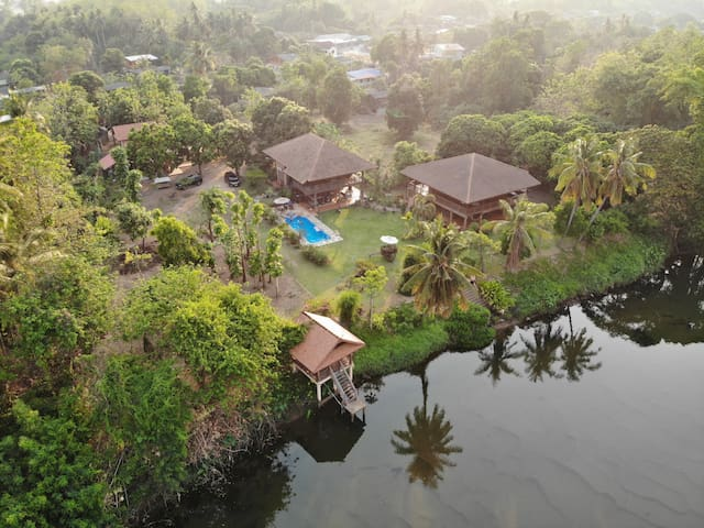 The Bantak River Houses and Retreats.