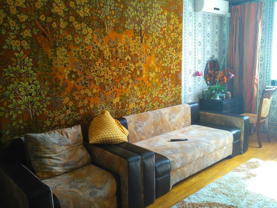 Sofa in big room
