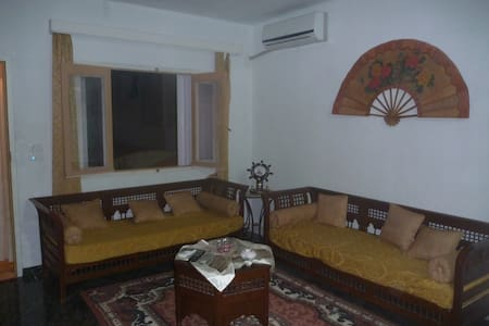 un foyer chaleureux  prés de la mer - Al-Maamoura - House