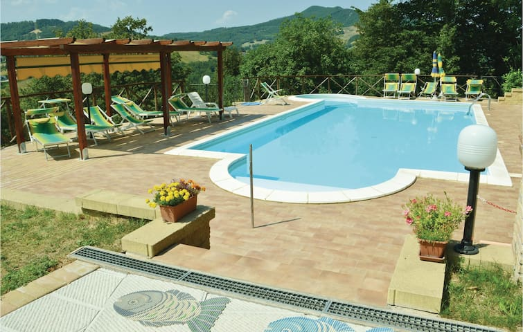 Holiday apartment with 1 bedroom on 50m² in Apecchio PU