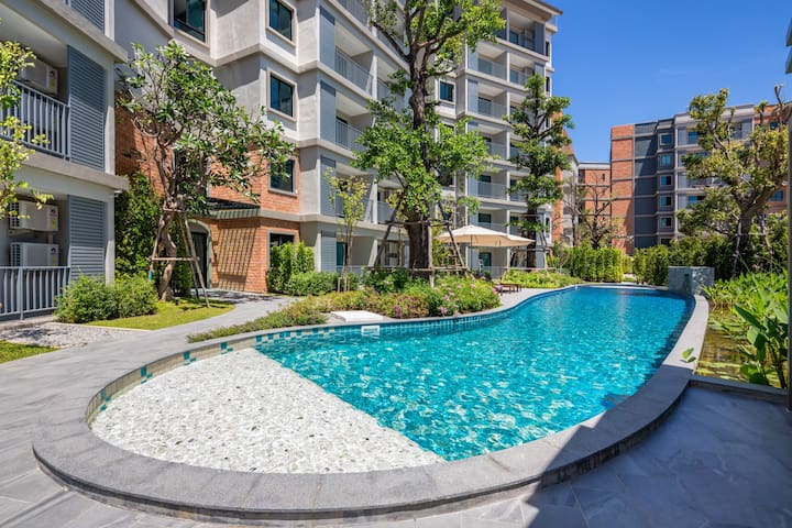 Delightful 1 Bedroom Apartment@Nai Yang beach–250m