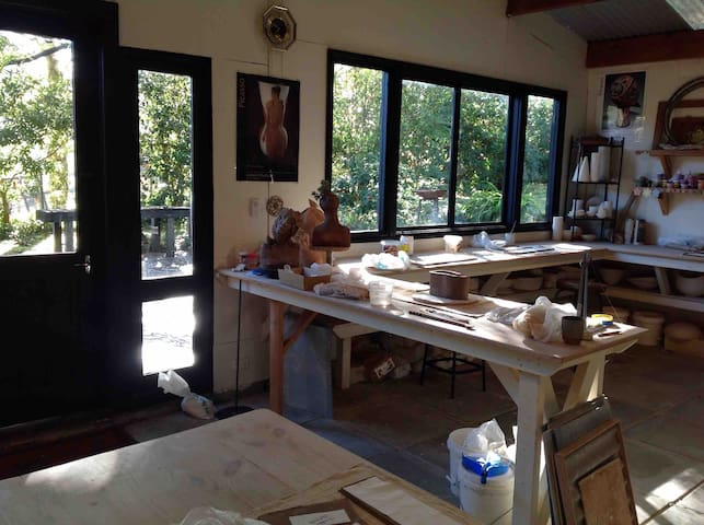 Pottery Studio on property