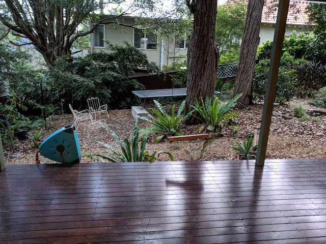 private deck and outlook