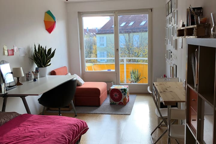Cozy+stylish Apartment close to Munich Center