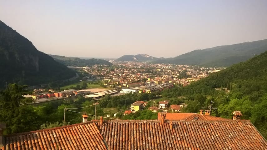 Casa Bondone vista panoramica 7 KM da Salo'