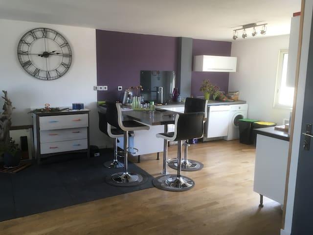 Bel appartement 70m2 rénové proche gare et centre - Narbonne - Daire