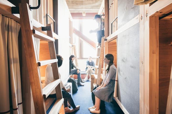 HATCHi Kanazawa Bunk Bed in Mixed Dormitory