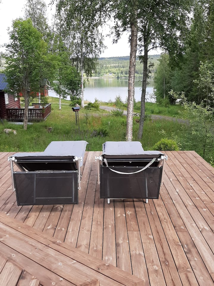 Cottage 50m to the lake Osen and 30min to Trysil.