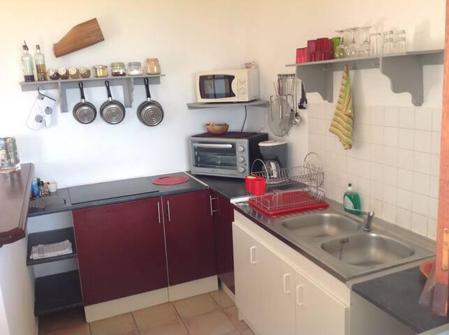 3 PIECES PISCINE & SPA VUE MER - Deshaies - Apartament