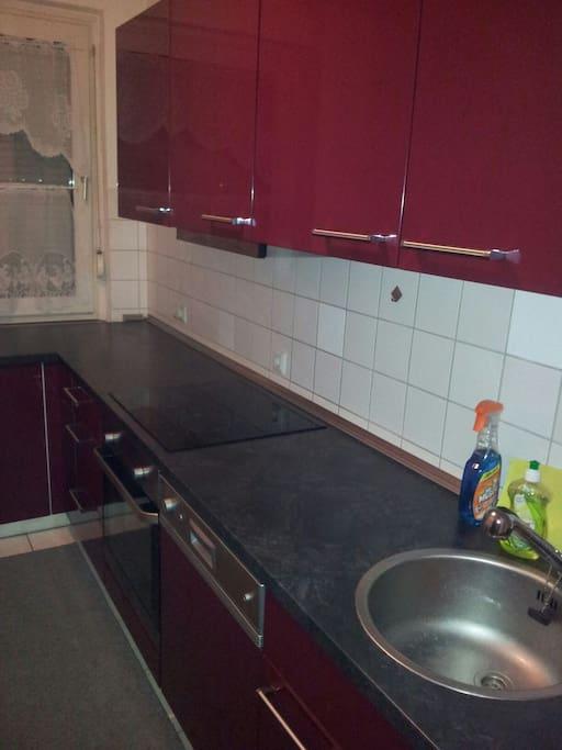 Full Kitchen Washing Maschin Coffee Freezer and More
