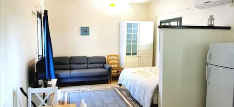 Spacious, Elegant studio flat with A sunny blacony